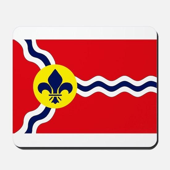 St. Louis Flag Mousepad