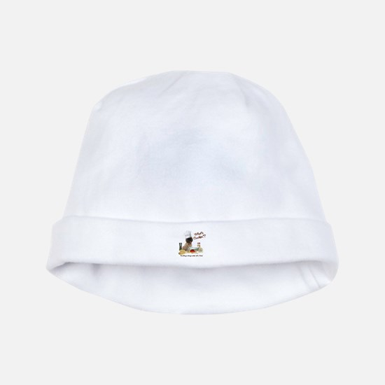 Cairn Terrier Cooking baby hat