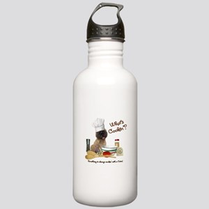 Cairn Terrier Cooking Stainless Water Bottle 1.0L