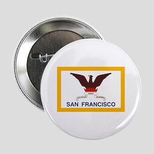 "San Francisco Flag 2.25"" Button (10 pack)"