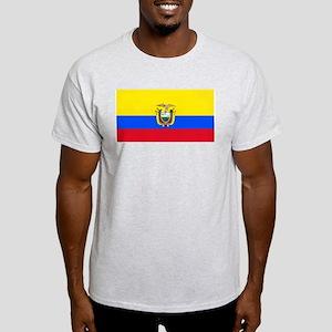Ecuador Ecuadorian Blank Flag Ash Grey T-Shirt
