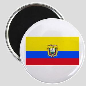Ecuador Ecuadorian Blank Flag Magnet