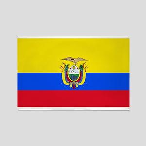 Ecuador Ecuadorian Blank Flag Rectangle Magnet