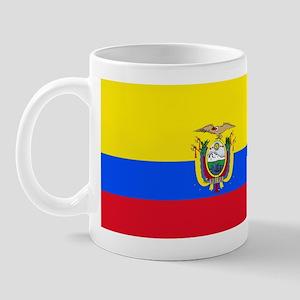 Ecuador Ecuadorian Blank Flag Mug