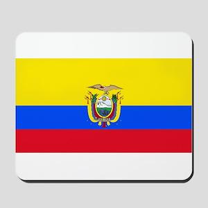 Ecuador Ecuadorian Blank Flag Mousepad