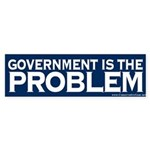 Government is the Problem Sticker