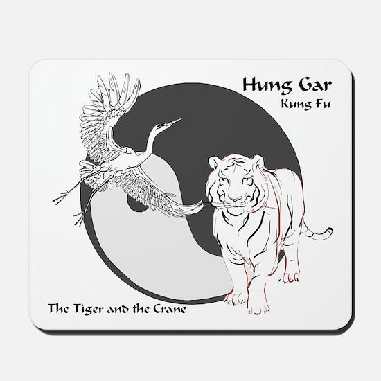 Hung Gar Kung Fu Logo Mousepad