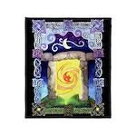 Celtic Doorway Throw Blanket