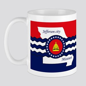 Jefferson City Flag Mug