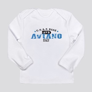 Aviano Air Force Base Long Sleeve Infant T-Shirt