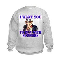 Go Run With Scissors Sweatshirt