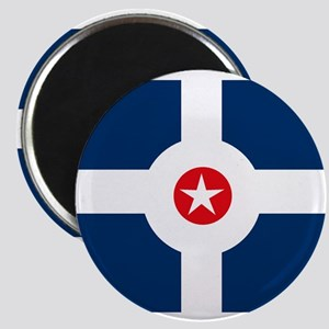 """Indianapolis Flag 2.25"""" Magnet (10 pack)"""