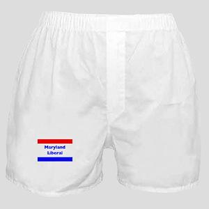 Maryland Liberal Boxer Shorts