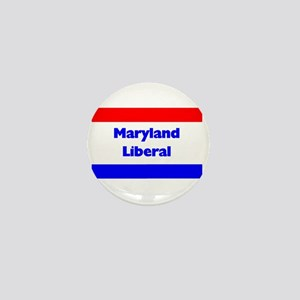 Maryland Liberal Mini Button