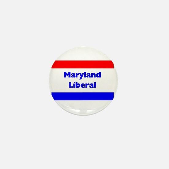 Maryland Liberal Mini Button