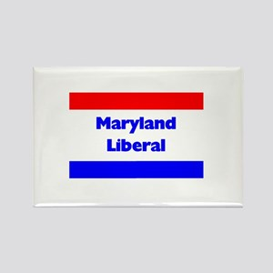 Maryland Liberal Rectangle Magnet