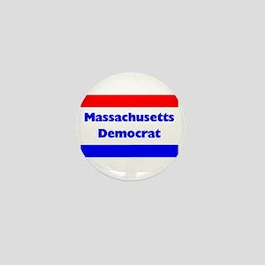 Massachusetts Democrat Mini Button