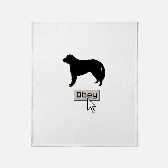 Kuvasz Throw Blanket