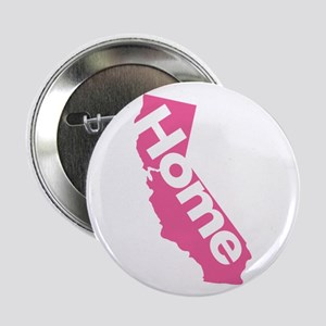 "Home - California (Pink) 2.25"" Button"