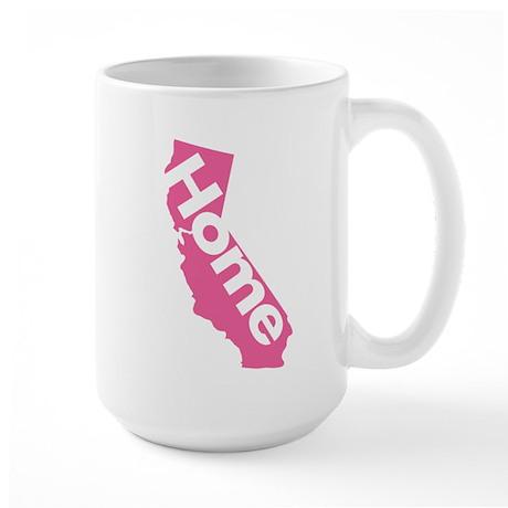 Home - California (Pink) Large Mug