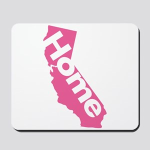 Home - California (Pink) Mousepad