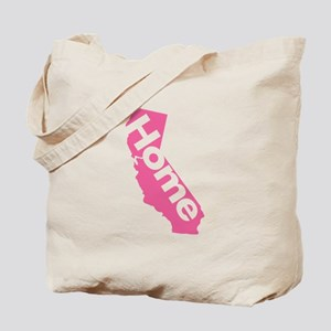 Home - California (Pink) Tote Bag