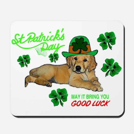 Good Luck Golden Mousepad