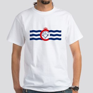 Cincinnati Flag White T-Shirt