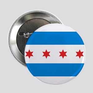 """Chicago Flag 2.25"""" Button (10 pack)"""