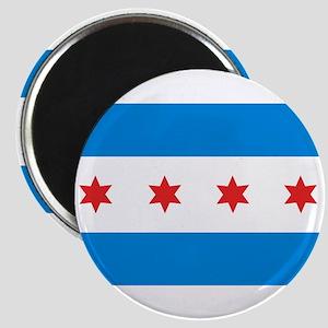 """Chicago Flag 2.25"""" Magnet (10 pack)"""