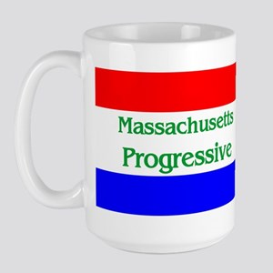 Massachusetts Progressive Large Mug