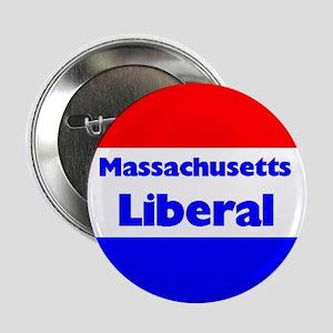 Massachusetts Liberal Button