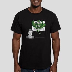 Arugula Men's Fitted T-Shirt (dark)
