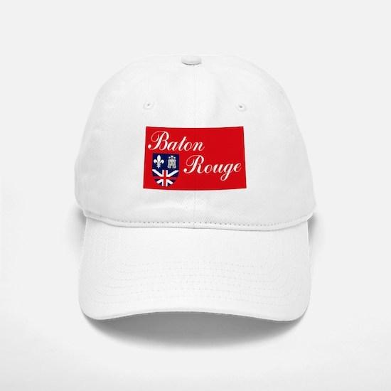 Baton Rouge Flag Baseball Baseball Cap