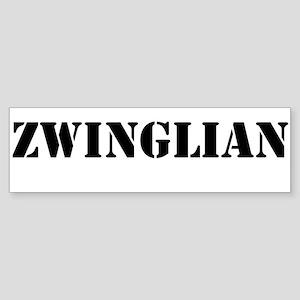 Zwinglian Sticker (Bumper)