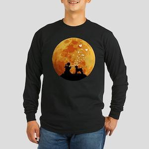 Kerry Blue Terrier Long Sleeve Dark T-Shirt