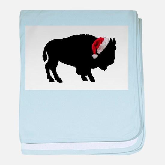 Unique Buffalo bulls baby blanket