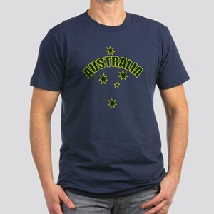 Australia Southern cross star Men's Fitted T-Shirt
