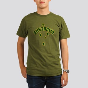 Australia Southern cross star Organic Men's T-Shir