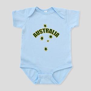 Australia Southern cross star Infant Bodysuit