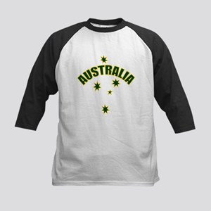 Australia Southern cross star Kids Baseball Jersey