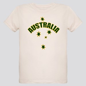 Australia Southern cross star Organic Kids T-Shirt