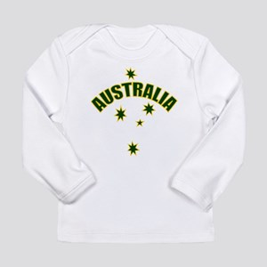 Australia Southern cross star Long Sleeve Infant T