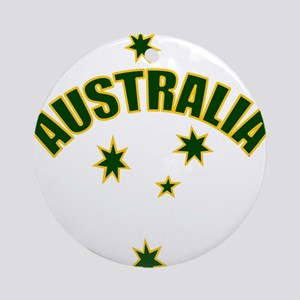 Australia Southern cross star Ornament (Round)