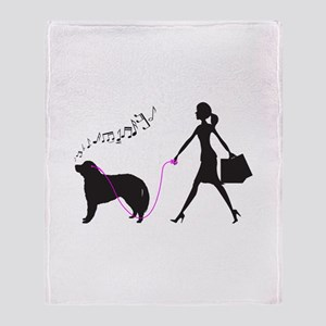 Kuvasz Throw Blanket