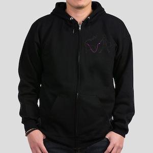 Kuvasz Zip Hoodie (dark)