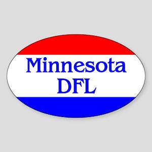 Minnesota DFL Oval Sticker