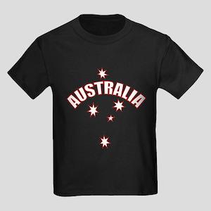 Australia Southern cross star Kids Dark T-Shirt