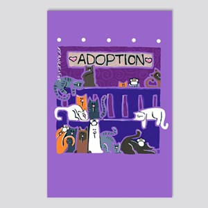 Cat Adoption Postcards (Package of 8)
