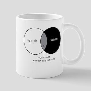 Dark Side Venn Diagram Mug